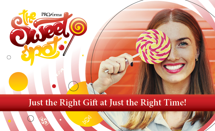 The Sweet Spot - Just the Right Gift at Just the Right Time